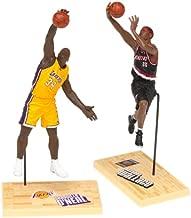 McFarlane Toys NBA 3 Inch Sports Picks Series 1 Mini Figures 2Pack Shaquille ONeal (Los Angeles Lakers) Rasheed Wallace (Portland Trailblazers)