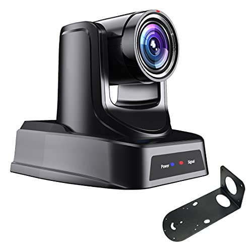 PTZ Camera with 3G-SDI,HDMI and IP Streaming Outputs,30X Optical Zoom,Broadcast Live Streaming Camera for Conference,Events,Church and School etc