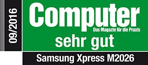 Samsung Xpress SL-M2026/SEE - Impresora láser monocromo, color blanco