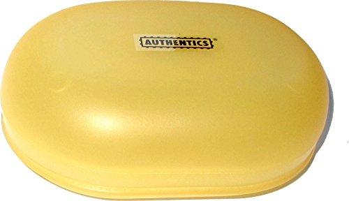 Authentics Reise-Seifenschale/Seifendose/Seifenbox/Soap Box (Mango)