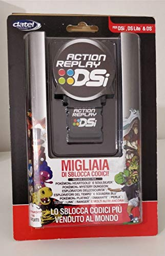 DATEL ACTION REPLAY + CD POKEMON Cheat Engine per DSi/DS/DS Lite