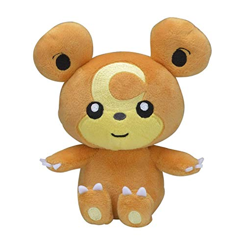 Pokémon Center: Sitting Cuties Teddiursa Poké Plush, 6 Inch