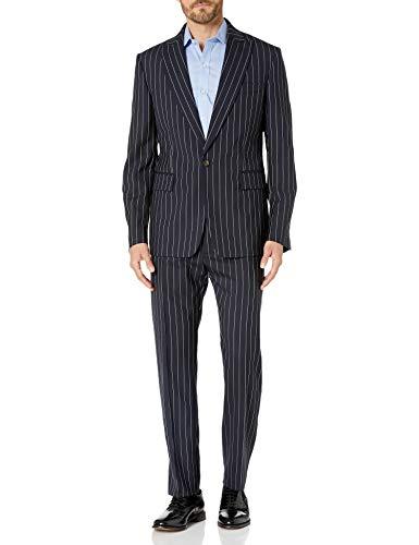 Vivienne Westwood James Anzug für Herren, mit Nadelstreifen - Blau - 60