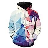 PRJN Herbst Herren Hoodie 3D Digitaldruck Hoodie Männer Frauen Lässig Langarm Tasche Sportswear