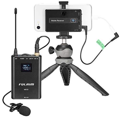 FULAIM MX10 Wireless Lavalier Microphone System