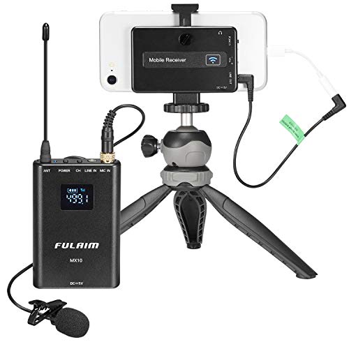 FULAIM MX10 Wireless Lavalier Microphone System