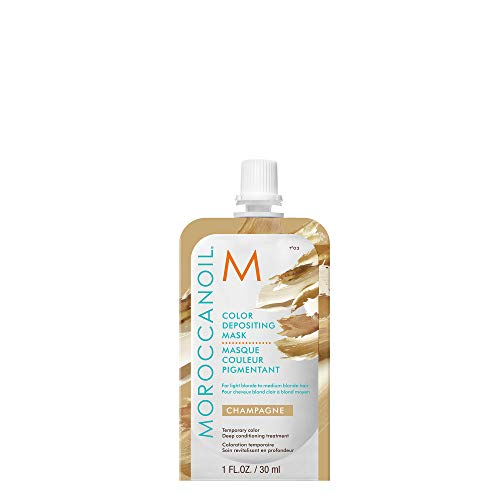 Moroccanoil Color Depositing Mask Probepackung, Champagne