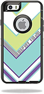 MightySkins Skin Compatible with OtterBox Defender iPhone 6/6S - Pastel Chevron | Protective, Durable, and Unique Vinyl Decal wrap Cover | Easy to Apply, Remove, and Change Styles | Made in The USA