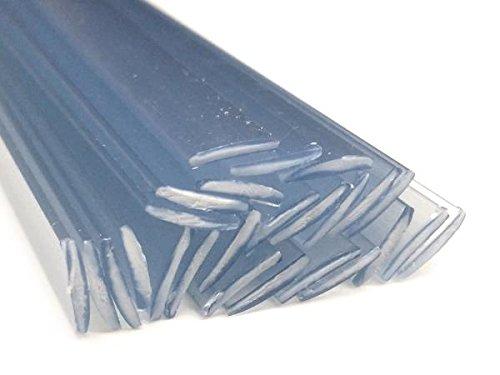 Kunststoffschweißdraht PE-HD 8x2mm Flach Weiß 25 Stäbe