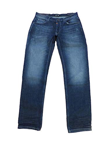 Tigha Herren Jeans Straight fit Denim MIT Elastan Modell JOEM (W31L32)