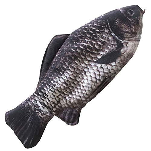 Bolsa de lápices de pescado divertido y fresco personalizado creativo salado pescado lápiz caso para la escuela oficina hogar