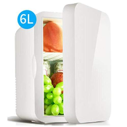 Lieling Draagbare mini-koelkast, stille licht, compacte koel- en verwarmingsfunctie, minibar, hoog vermogen, 12 V-220 V, voor cars thuis, office slaapzalen