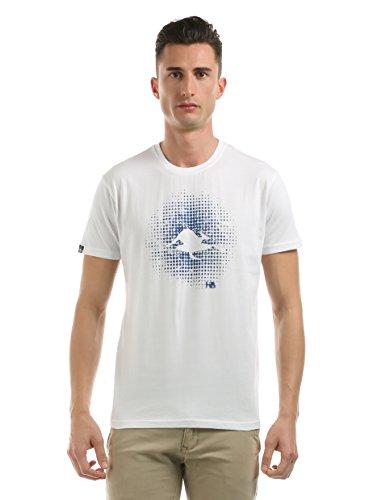 Hot Buttered - Sweat à Capuche - Manches Courtes - Homme Blanc Blanc XXL