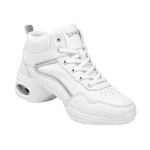 Gtagain Mujer Deportes Contemporáneo Jazz Danza Zapatos - Cordones Cuero Malla Suela...