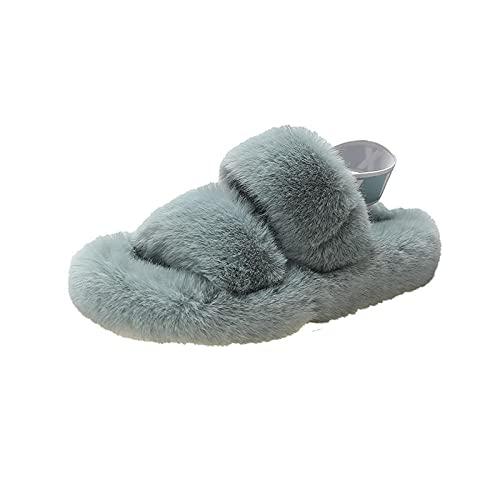 JKCTOPHOME Ciabatte da Spiaggia da Uomo,Pinne Femminili Fuori Autunno e Inverno-Blue_39,Pantofole Leggere comode Antiscivolo