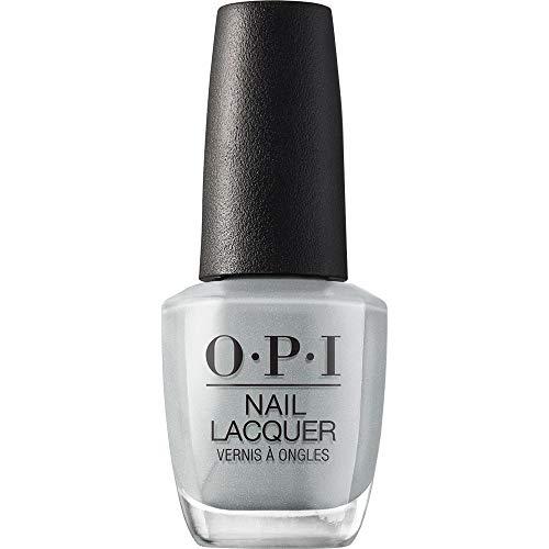 OPI Nail Lacquer, I Can Never Hut Up, Gray Nail Polish, Fiji Collection, 0.5 fl oz