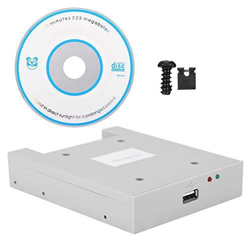 Externes USB Diskettenlaufwerk, FDD-UDD U144 1,44 MB USB-SSD-Diskettenlaufwerk-Emulator, für Industrieregler