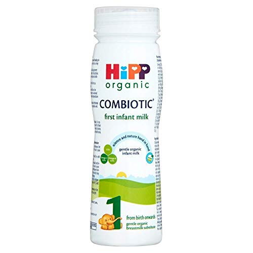 HippOrganico Combiotic Latte Prima Neonato 1 Dalla Nascita In Poi 200ml (Confezione da 6)