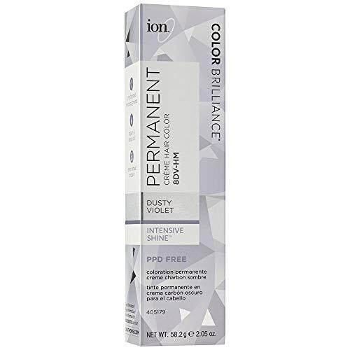 Ion 8DV-HM Dusty Violet Permanent Creme Hair Color 8DV-HM Dusty Violet