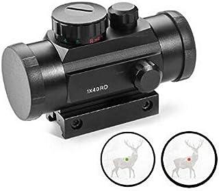 LifBetter Sight Scope Vuurwapens Tactische 1x40 Rood en Groen Dot Sight Scope 11mm en 20mm Track Optische Lens Holografisc...