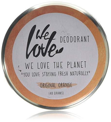 We Love The Planet Natürliche Orangen-Deocreme