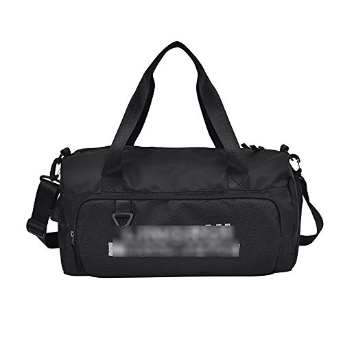 JWIL Sports Duffels Ports Fitness Bag Dry And Wet Separation Large-capacity Travel Bag Printed Luggage Bag S for Yoga Swim (Color : A, Size : 44x18x24cm)