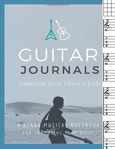 Guitar Journals – Fingerstyle: Fingerstyle Guitar Tablature Books