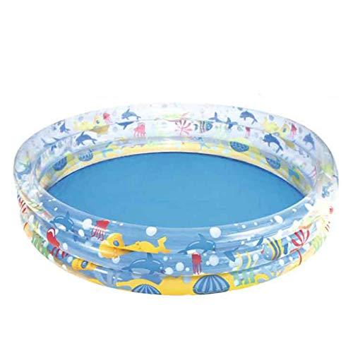 LSZ Piscina Inflable for niños Ducha for bebés Piscina de Bolas Marinas casa Piscina Grande Parque acuático Piscina de Juguetes for bebés Piscinas hinchables (Size : 152 * 30cm)