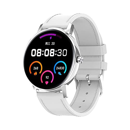 zyz L01 Bluetooth Call Smart Watch Men 390 * 390 Pantalla Táctil Completa, Monitor De Ritmo Cardíaco, Empuje De Información, Reloj De Recordatorio Inteligente,F