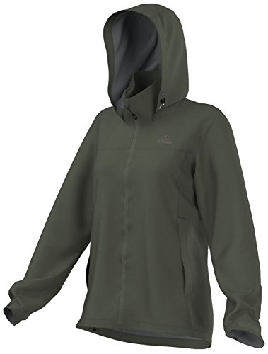 adidas Wandertag - Chaqueta para Mujer, Mujer, AA2067, Base Green, Large