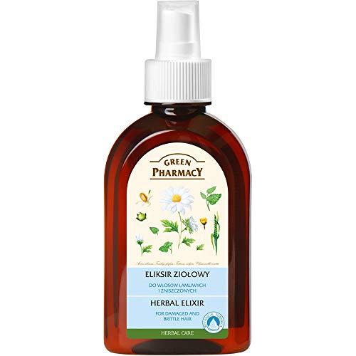 Green Pharmacy Herbal Elixir for Damaged, Brittle & Dyed Hair 250ml