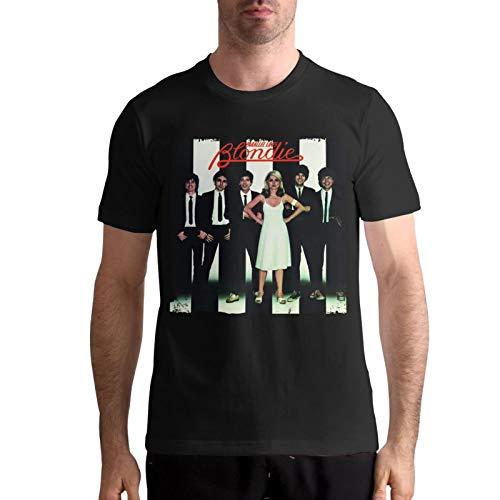 Men's Blondie Band Parallel Line Album T-shirt, S to 5XL