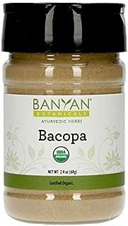 Banyan Botanicals Bacopa Powder, Spice Jar - USDA Organic - Bacopa monniera - Ayurvedic Herb for Memory & F...