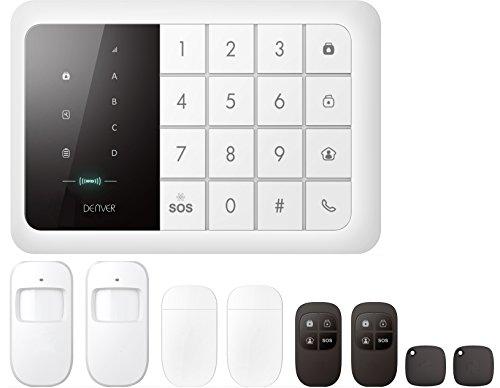 Denver 19400000 Alarmsysteem met ingebouwde GSM-module