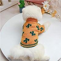 ペット犬冬ニットセーター、ベストコスチューム服暖かいコートパピー猫のためのTシャツジャケット (Size : Medium)