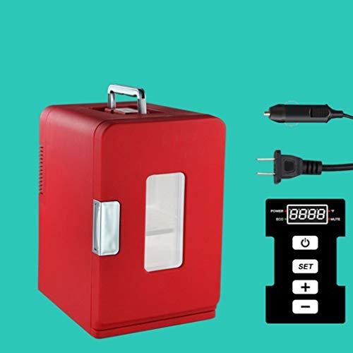 waard 15 liter draagbare thermo-elektrische koelbox warmt en koel geluidloos ideaal voor outdooractiviteiten in de tuin barbecue picknick camping voor auto en stopcontact AC/DC 12V en 220V