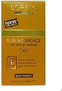 Loreal Paris Sublime Bronze self tanning Towelettes for body (3 Pack)