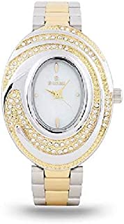 Sunex Women's White Dial Stainless Steel Band Watch, S0350TW