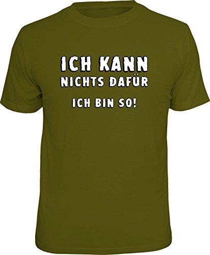 RAHMENLOS Original T-Shirt: Ich kann Nichts dafür, ich Bin so -L, Nr.4402