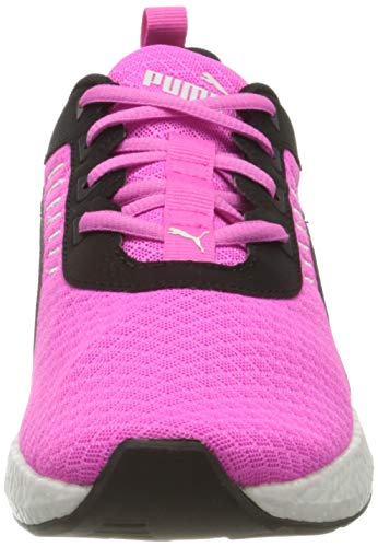 PUMA NRGY Elate WNS, Zapatillas para Correr de Carretera Mujer, Rosa (Luminous Pink Black White), 42 EU