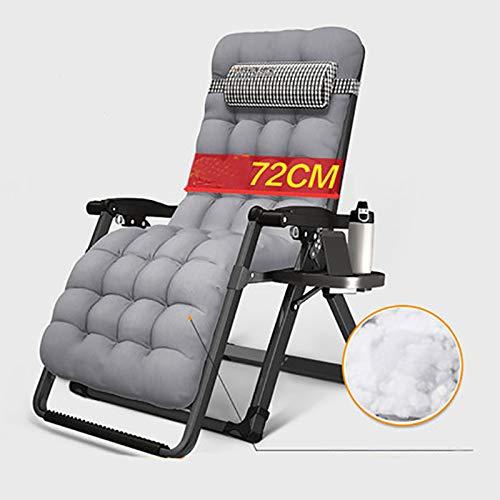 BLWX - Chaise pliante - Fauteuil inclinable Pause déjeuner pliante Chaise Siesta Bureau Loisirs Femme enceinte Chaise Chaise Dossier Chaise pliante (Couleur : G)