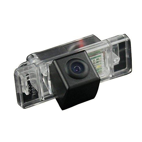 Navinio Caméra de recul 170 ° - Étanche - Vision nocturne - Aide au stationnement - 628 x 586 pixels - Noir - Pour Citroën C5 de 2010 à 2012 - C4/C-Quatre