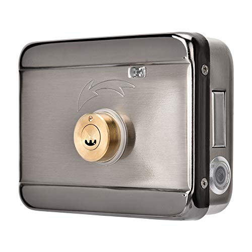 Cerradura de puerta electrónica inteligente, Cerradura de puerta electrónica con control remoto, Cerradura de puerta inteligente de doble cabezal de 12V, Cerradura de puerta inteligente electrónica in