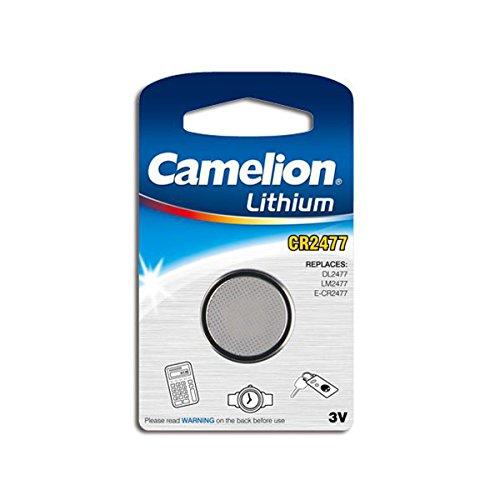gws-powercell CR2477, Camelion Lithium, Pila a bottone