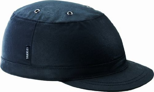YAKKAY Helm-Cover Paris Black Oilskin - Large