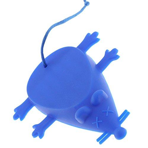 OTOTEC niet-giftige siliconen rubber mooie muis vorm deur vloer stop wig blauw stop