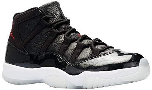 Nike Herren Air Jordan 11 Retro Fitnessschuhe, Black Gym Red White Anthracite, 42.5 EU