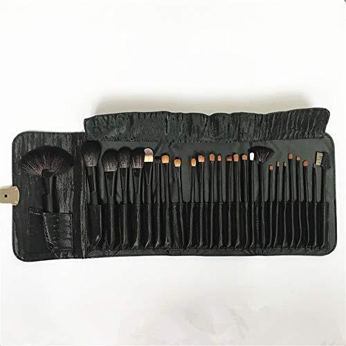 Pinceau de maquillage professionnel outils 26 aisselle poils animaux studio étage artiste maquilleur à paupières pinceau outils de maquillage, noir