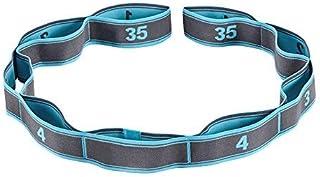 Wankd - Cinturón de gimnasia con 9 trabillas, 105 x 3,6 cm