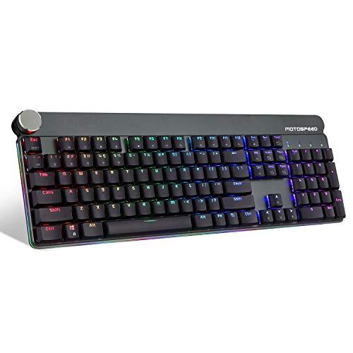 Mechanische Tastatur Wired + 2.4G Dual-Mode-Hintergrundbeleuchtung Kurz Keycap Entwurf (Farbe: Schwarz) (Farbe: Schwarz) ANGANG